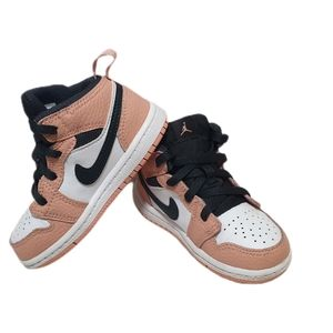 Air Jordan Mid 1 unisex toddler baby size US 7c